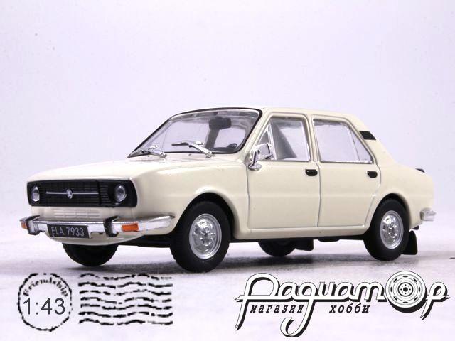 Skoda 105 (1976) с журналом Автолегенды СССР и Соцстран №195