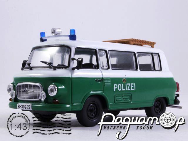 Barkas B1000 Полиция Берлина (1968) с журналом Полицейские машины мира №63