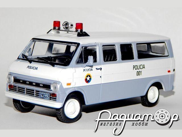 Ford Econoline Полиция Колумбии (1961) с журналом Полицейские машины мира №69