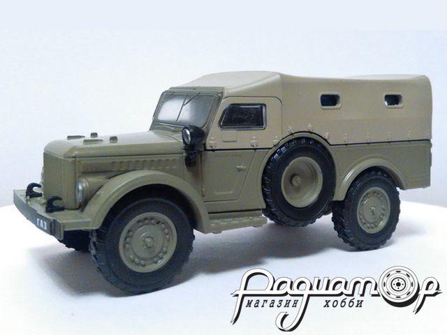 ГАЗ-62 (1952) с журналом Автолегенды СССР и Соцстран №229