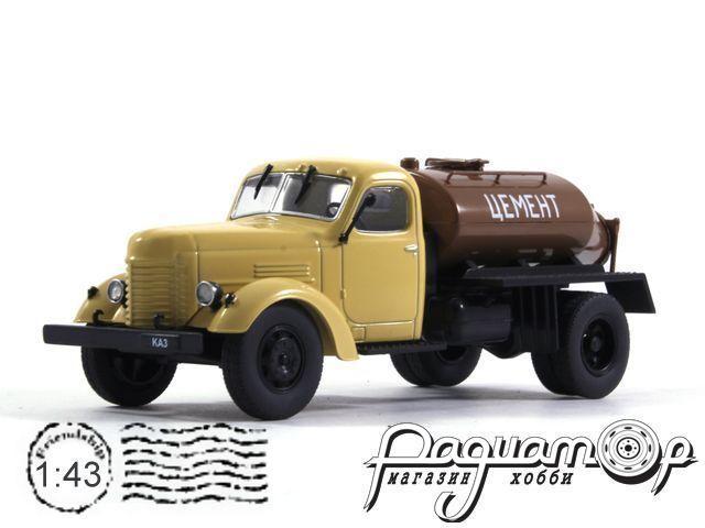 КАЗ-601 цементовоз (1956) с журналом Автомобиль на службе №73