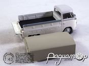 Volkswagen T1 Covered Pickup (1951) 251XND-206