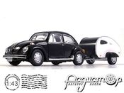 Volkswagen Beetle with Caravan (1938) 14709