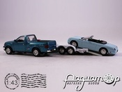 Ford F-150 Pick-Up с прицепом + Ford Thunderbird (1997) (TI)