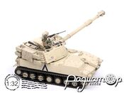 Self-Propelled Howitzer M109A6 Paladin Tank (1970) 90021 (D)