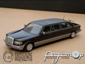 Mercedes-Benz W126 Series 1000SEL Extended (1986) 312872