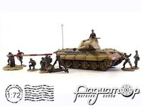 Sd.Kfz.182 King Tiger and soldiers set (1944) 85701 (VZ)