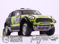 Mini All4 Racing №302 Dakar Rally (2013) L13c12
