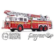 Seagrave Rear Mount Ladder (2001) (D)*