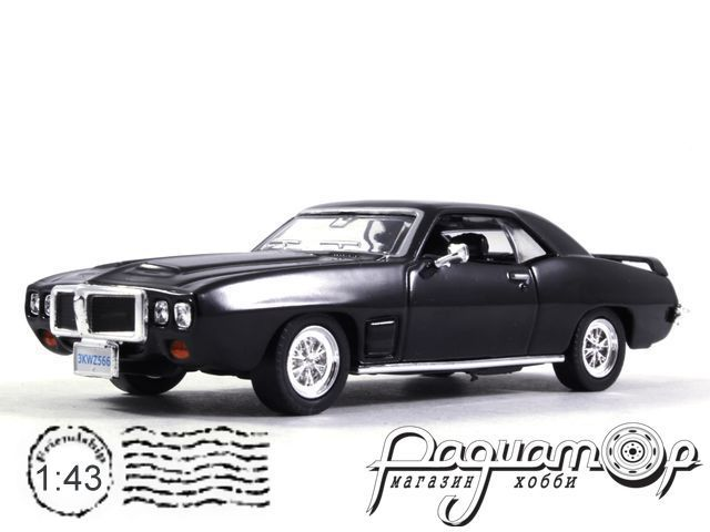 Pontiac Firebird Trans Am (1969) LA27