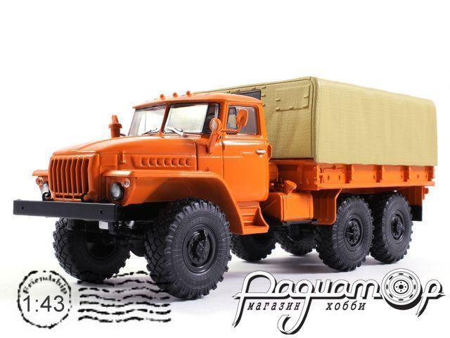 УРАЛ-4320 бортовой, с тентом (1977) 101012-Y