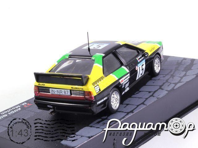 Audi Quatro, M.Mouton-F.Pons, Tour de Corse (1981)