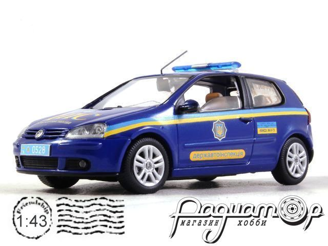 Volkswagen Golf V ДПС Украины (2003) конверсия №1