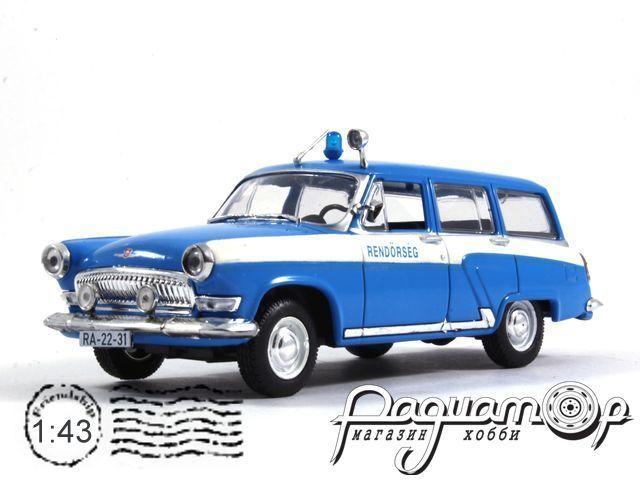 Полицейские машины мира №34, ГАЗ-22 Полиция Венгрии (1962) (I)