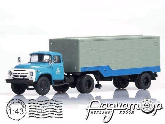 ЗИЛ-130В1 с полуприцеп ОдАЗ-794 (1964) SSM7017+SSM1036
