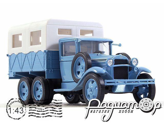 ГАЗ-ААА «Каракумский пробег» (1932) H753-2 (VZ)