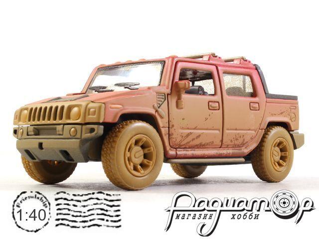 Hummer H2 SUT с грязевыми эффектами (2005) KT5097Y-R (D)