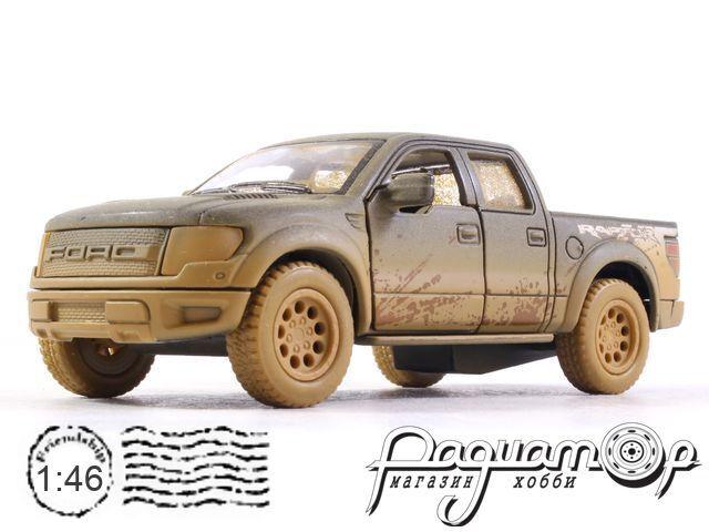 Ford F-150 SVT Raptor SuperCrew с грязевыми эффектами (2016) KT5365Y (D)