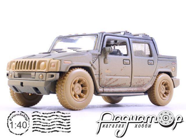 Hummer H2 SUT с грязевыми эффектами (2005) KT5097Y-D (D)