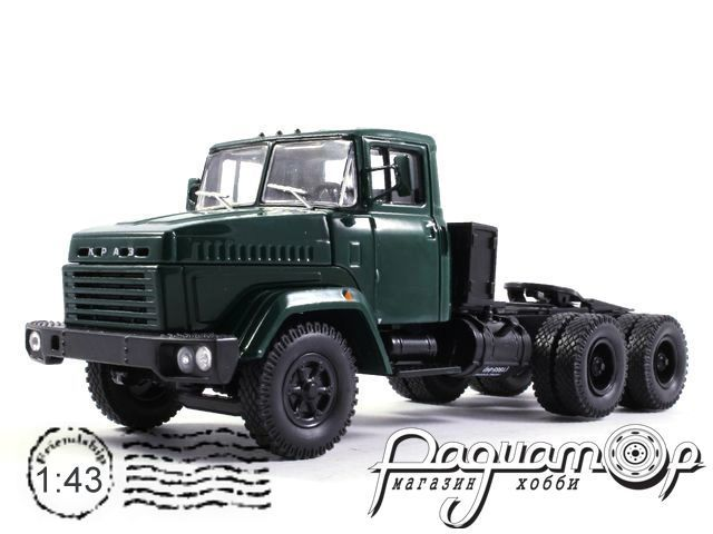 КрАЗ-6444 седельный тягач (1985) H780-G