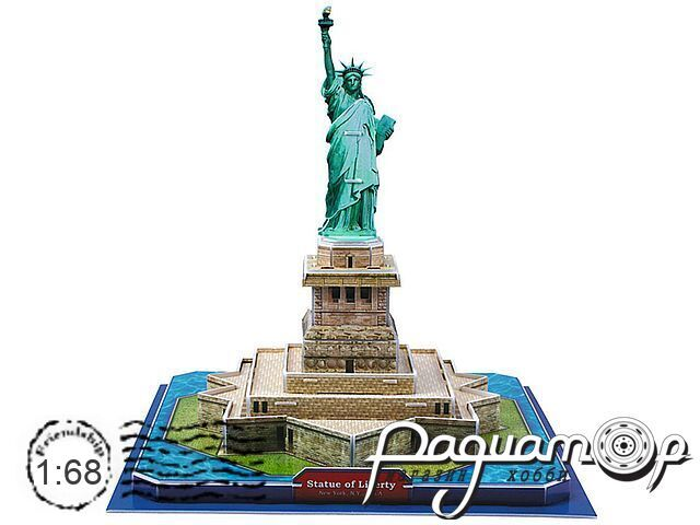 3D-конструктор Статуя Свободы США C02080 (D)