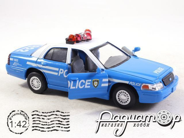Ford Crown Victoria Police (1999) 5327 (D)