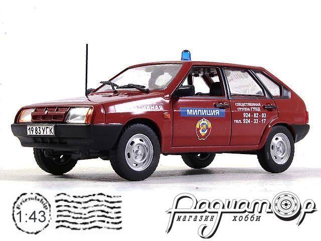 ВАЗ-2109 Милиция СССР