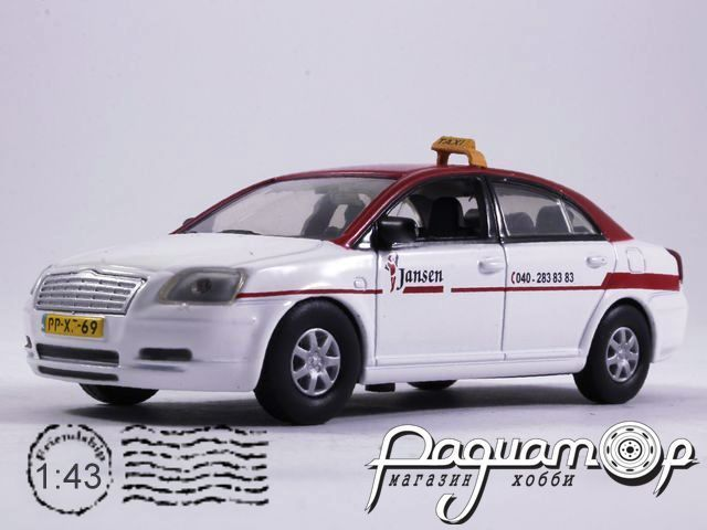 Toyota Avensis Taxi Eindhoven (2003) TS17