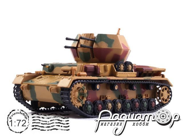 Танки Мира №40, Flakpanzer IV (2cm Vierling) Wirbelwind (1945)