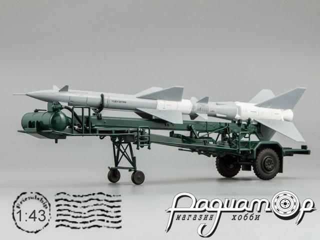 Транспортно-заряжающая машина ПР11А (с ракетой 13ДСУ) C60111