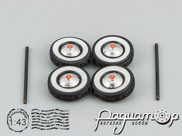 Набор колесных дисков и покрышек Я-14 для ЗиС-110 500050