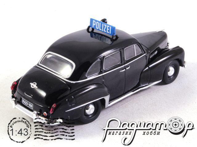 Полицейские машины мира №68, Opel Capitan Полиция ФРГ (1951)