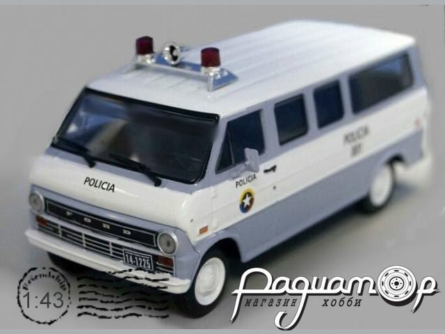 Полицейские машины мира №69, Ford Econoline Полиция Колумбии (1961)