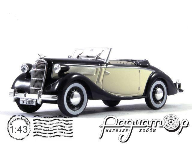 Opel Super 6 Convertible (1937) WB104