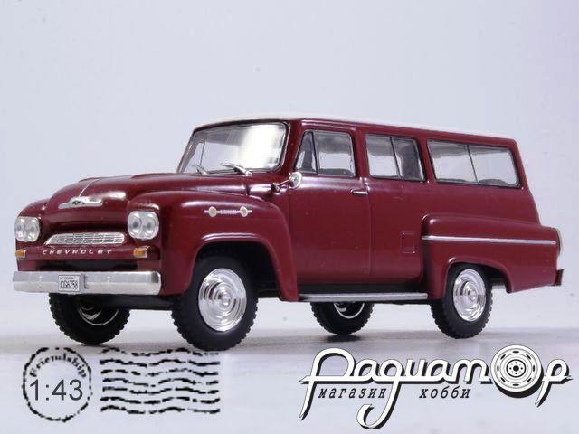 Chevrolet Amazona 4х4 (1963) WB109