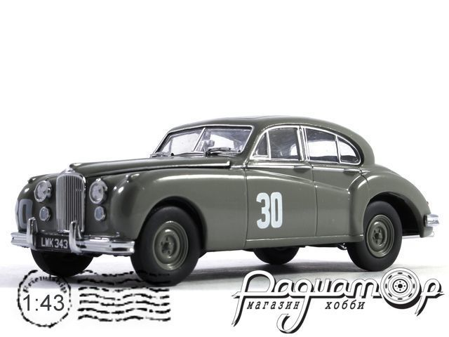 Jaguar MK VII №30 S.Moss Winner British Silverstone (1952) JAGVII007