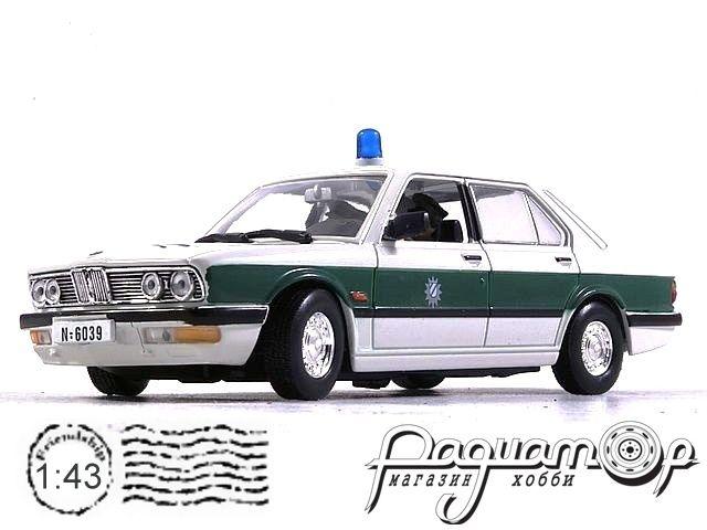 BMW 518 Polizei