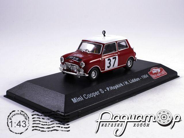 Mini Cooper S №37, Winner Monte-Carlo, Hopkirk/Liddon (1964) 3575002