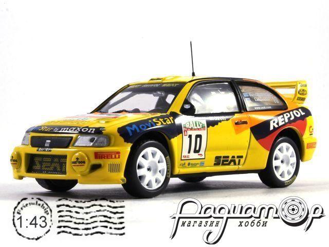 Seat Cordoba WRC №10, Rally New Zealand, Gardemeister/Lukander (1999) (L)