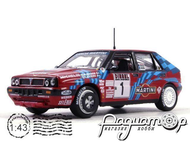 Lancia Delta Integrals 16V №1, Rally Sanremo, Biasion/Siviero (1989)