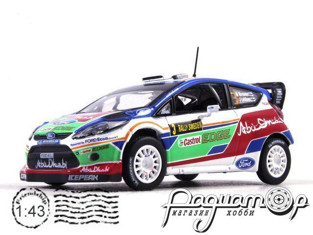 Ford Fiesta RS WRC №3, Rally Sweden, Hirvonen/Lehtinen (2011) AR41 (I)
