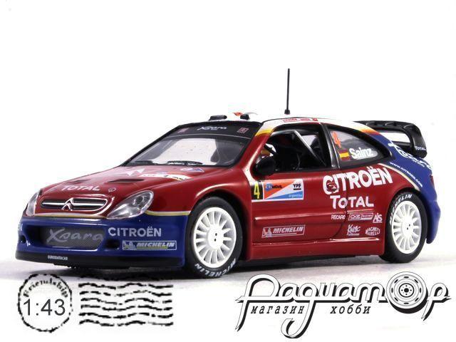 Citroen Xsara WRC №4, Rally Argentina, Sainz/Marti (2004)