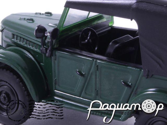 Masini de Legenda №18, ГАЗ-69А (1953)