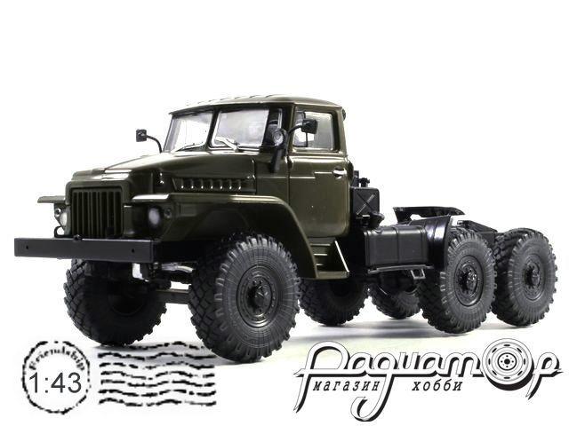 УРАЛ-377С 6х4 седельный тягач (1965) 100916