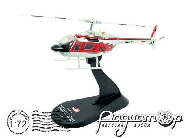 Вертолет Bell TH-57C Sea Ranger (Bell 206B-3 JetRanger) (1996) HS17