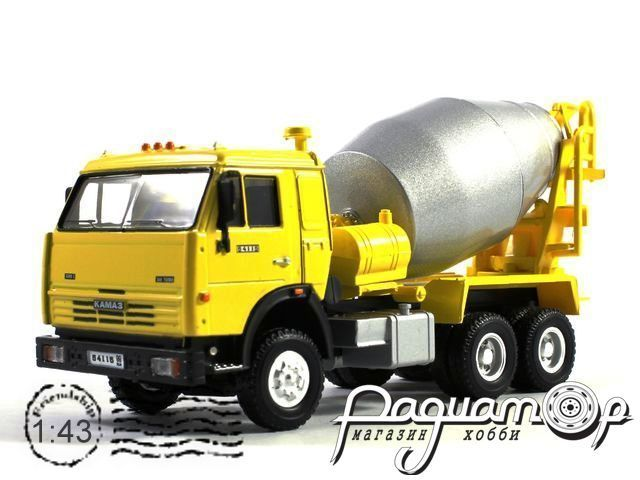 КАМАЗ-54115 бетономешалка (2000) BR-581123