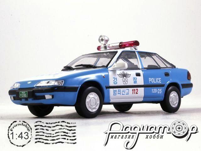 Полицейские Машины Мира №71, Daewoo Espero S Полиция Южной Кореи (2000)
