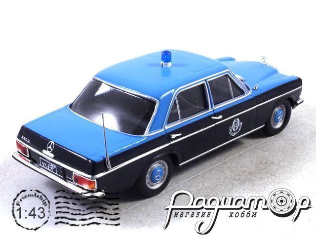 Полицейские Машины Мира №70, Mercedes-Benz W114 Полиция Катара (2000)