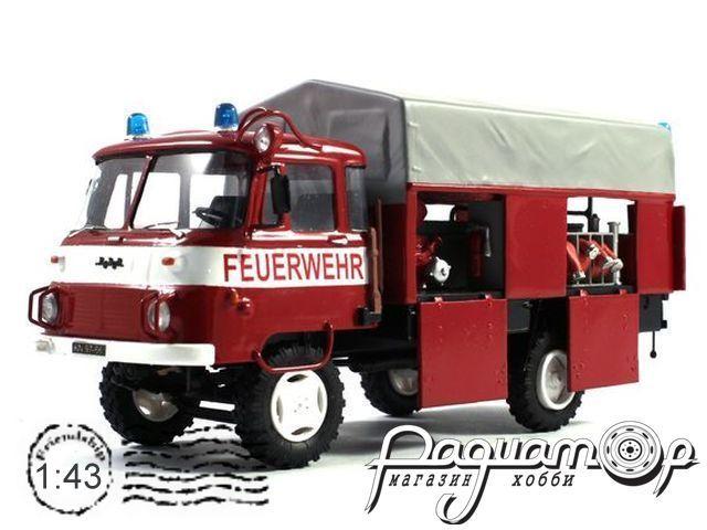 Robur LO 2002 LF8-TS8 пожарный, открытый (1975) KM2006