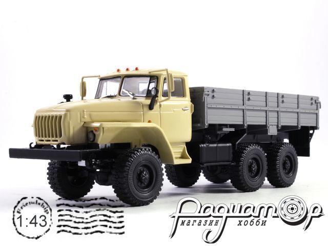 УРАЛ-43202-31 (двигатель ЯМЗ-238) бортовой (2003) 101005
